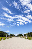 Park in nymphenburg castle Royalty Free Stock Images