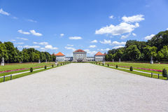 Park in nymphenburg castle Royalty Free Stock Photos