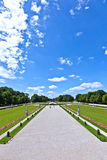Park in nymphenburg castle Stock Photos