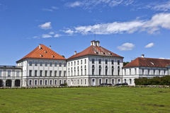 Park in nymphenburg castle, munich Royalty Free Stock Photos