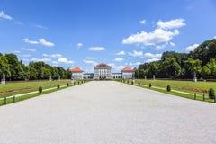 Park in nymphenburg castle, munich Stock Photos