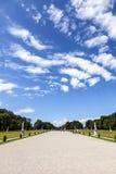Park in nymphenburg castle Stock Photo