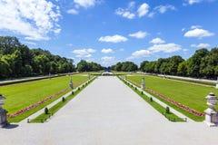 Park in nymphenburg castle Stock Images