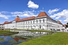 Park in nymphenburg Schloss, München Stockfotografie