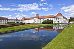 Park in nymphenburg Schloss, München Stockfotos