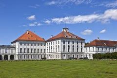 Park in nymphenburg Schloss, München Lizenzfreie Stockfotos