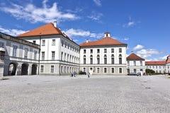 Park in nymphenburg Schloss, München Lizenzfreie Stockbilder