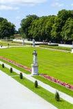 Park in nymphenburg Schloss, München Lizenzfreies Stockfoto