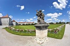 Park in nymphenburg Schloss, München Stockfoto