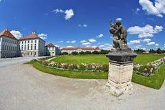 Park in nymphenburg Schloss, München Lizenzfreie Stockfotografie