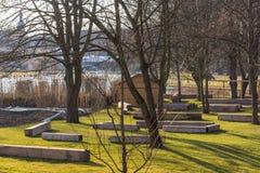 Park od ogrodniczego przedstawienia 2018 Zdjęcie Royalty Free