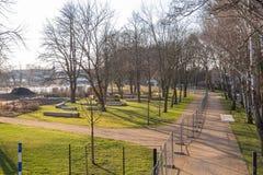 Park od ogrodniczego przedstawienia 2018 Fotografia Stock