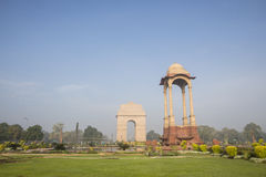 Free Park Of India Gate Royalty Free Stock Photography - 68202277