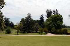 The Park is an old manor house of the winery, `Concho y Tora` Stock Image