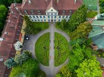 Park Oliwa in Sopot, top view Royalty Free Stock Photos