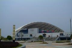 Park Olympique. In Jiujiang, China Royalty Free Stock Images