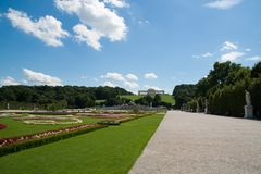 Park in Oostenrijk Stock Foto