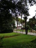 Park in Opatija Kroatië stock afbeeldingen