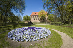 Park in Oporow royalty-vrije stock afbeelding