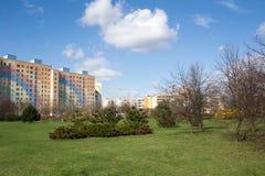 Park outdor in Gdansk Zaspa. Stock Photo