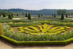 In the park of palace complex Versailles Royalty Free Stock Image