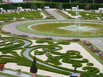 The park of the palace in Ludwigsburg Royalty Free Stock Photos