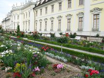 The park of the palace of Ludwigsburg Royalty Free Stock Photography