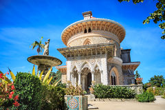 Park and Palace of Monserrate Stock Image