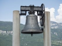 Park pamięć, Maria dolens dzwon ja Fotografia Stock