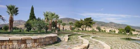 Park Pamukkale, Hierapollis - Turkey Royalty Free Stock Image