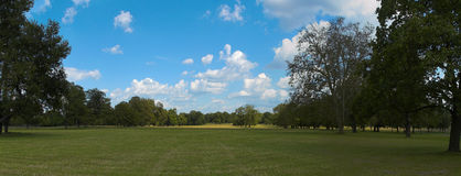Park Panorama Royalty Free Stock Photography