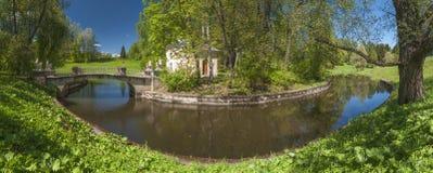 Park panorama Royalty Free Stock Photo