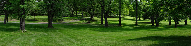 Park Panoramic Royalty Free Stock Images