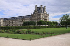 Park in Paris stockfoto
