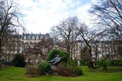 Park of Paris Royalty Free Stock Photo