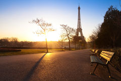 Park in Paris Royalty Free Stock Image