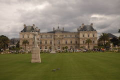 Park in Paris. At once summer day royalty free stock photography
