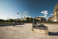 Park in Paris Royalty Free Stock Photos