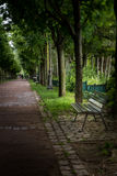 Park. Parisian park in spring time Royalty Free Stock Photo