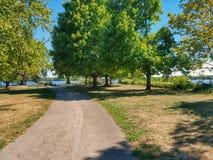 Park path Royalty Free Stock Photo