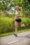 Park Path Runner Royalty Free Stock Photos
