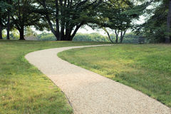 Park Path Royalty Free Stock Image