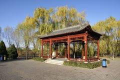 Park pavilion Stock Images