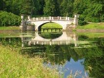 Park in Pavlovsk stockfotos