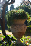 Park of Pedralbes Royal Palace. Barcelona Royalty Free Stock Images