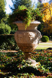 Park of Pedralbes Royal Palace. Barcelona,  Spain Stock Image