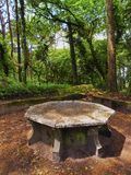 Park of Pena National Palace in Sintra Royalty Free Stock Photography