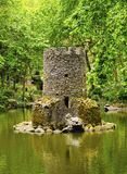 Park of Pena National Palace in Sintra Stock Images