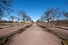 Park Petergof Royalty-vrije Stock Foto's