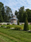 Park in Peterhof in Russia Stock Image